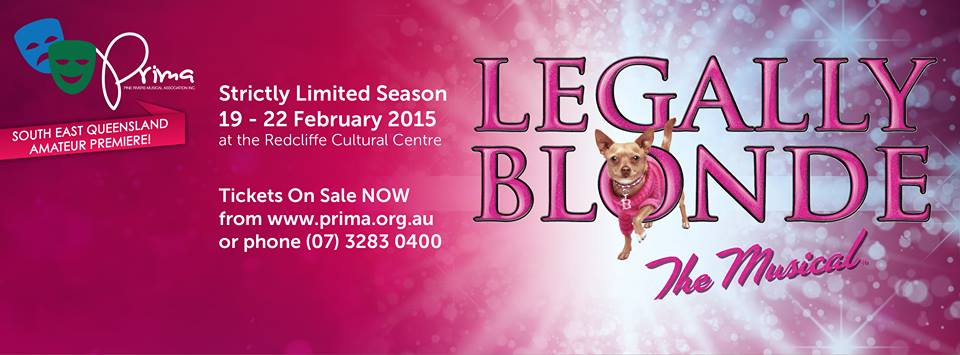 Legally Blonde Dog Musical