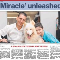 Miracle unleashed - news article from Pine Rivers Press