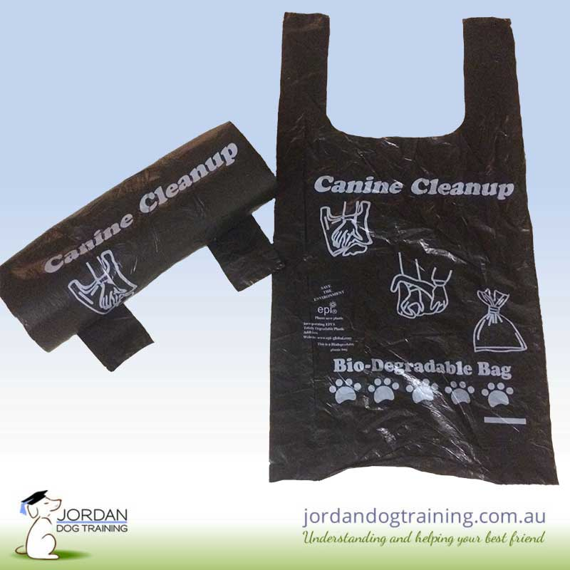 Jordan Dog Training dog poo bags