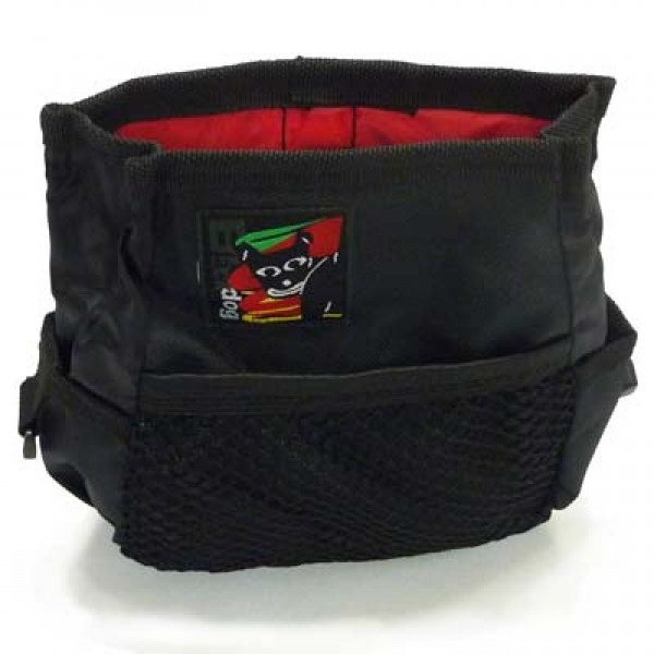 Jordan Dog Training Black Dog Treat Pouch