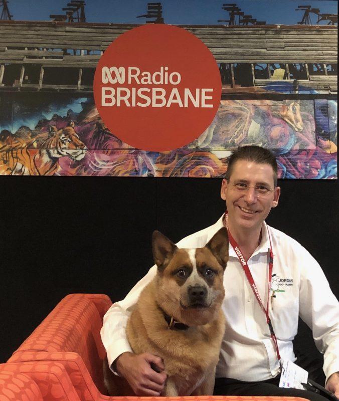 Red Dog & Jordan Dog Training at the ABC